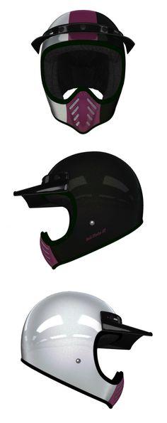Bell Moto 3 Helmet Custom Design