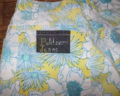 Lilly Pulitzer vintage mens stuff jeans flower print 29 W | eBay