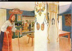 Carl Larsson Mother Kersti