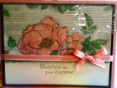 "Made this for a sweet friend using the Stampin' Up! ""Timeless Elegance"" Designer Series Paper"