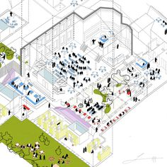 Tivoli competition (2º prize) by 2by4-architects
