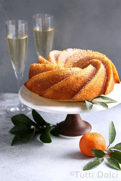Citrus Champagne Bundt Cake | bundt cake | bundt cake recipes