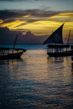 Sunset In Stone Town Tanzania And Zanzibar An Exotic Adventure Beaches I