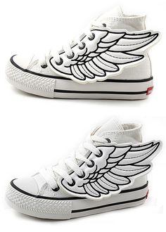 Superhero shoe wings