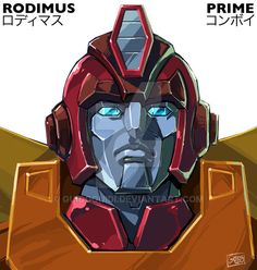 Rodimus Convoy by GuidoGuidi on DeviantArt