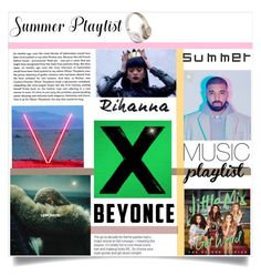 """Summer playlist"" by lifeisworthlivingagain ❤ liked on Polyvore featuring art and Summerplaylist"