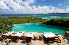 Necker Island.  http://www.xoprivate.com/suites/necker-island/