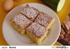 Koláč z cukety recept - TopRecepty.cz Kefir, Paleo Diet, Avocado Toast, Smoothies, Breakfast Recipes, French Toast, Food And Drink, Lunch, Snacks