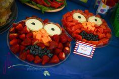 Sesame Street fruit Elmo #sesamestreet #fruit #elmo
