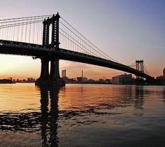 Ponte di Manhattan - fiume Hudson New York Wikipedia Places Around The World, Travel Around The World, Around The Worlds, Manhattan Bridge, Brooklyn Bridge, Beautiful World, Beautiful Places, Hudson New York, Built Environment