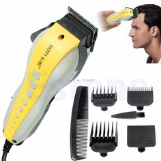 Pro Complete Hair Cutting Kit Clippers Trimmer Shaver -B118