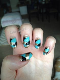 Fishtail nails!