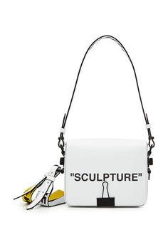 a0c394e4824 Off White Women Mini Saffiano Leather Shoulder Bag ( 735) ❤ liked ...