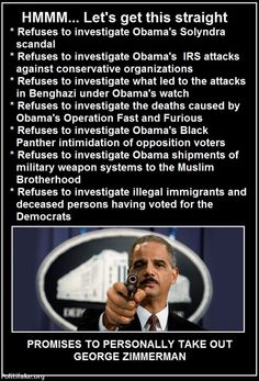 holder is obamas gatekeeper.