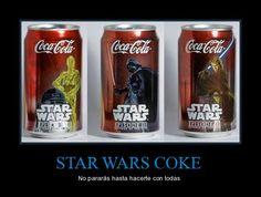 STAR WARS COKE - No pararás hasta hacerte con todas