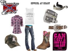 """She's Country3"" by lacy-bilderback ❤ liked on Polyvore"