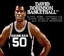 San Antonio Spurs: Sega MegaDrive Genesis 16 bit Game Cartridge: David Robinson Basketball