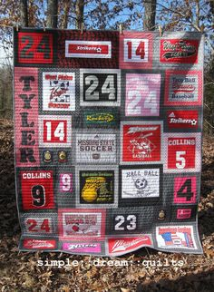 college dorm quilt, memory quilt, t-shirt quilt, nap quilt, lap quilt, dorm room quilt, twin quilt, twinXL quilt .....Made to order by simpledream2 on Etsy https://www.etsy.com/listing/261558879/college-dorm-quilt-memory-quilt-t-shirt