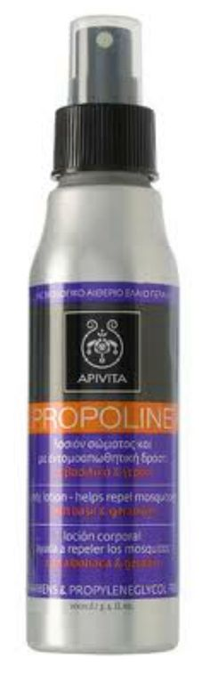 Apivita Propoline Φυσική Λοσιόν Σώματος Για Τις Καλοκαιρινές Ημέρες Και Νύχτες Με Βασιλικό & Γεράνι 100ml. Μάθετε περισσότερα ΕΔΩ: https://www.pharm24.gr/index.php?main_page=product_info&products_id=3891