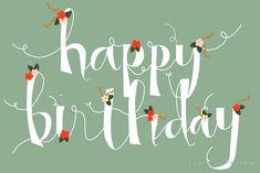 'Sophia Happy Birthday/ Greetings Card' Greeting Card by Francesca Fearnley Happy 30th Birthday Wishes, Happy Birthday For Him, Happy Birthday Posters, Birthday Blessings, Happy Birthday Greeting Card, Happy Birthday Images, Birthday Pictures, Happy Birthday Beautiful Lady, Birthday Quotes