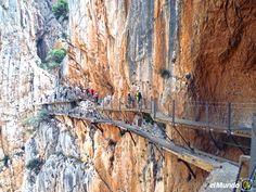 El Caminito lleno de adrenalina: Desfiladero