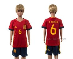 http://www.xjersey.com/spain-6-ainiesta-home-youth-euro-2016-jersey.html SPAIN 6 A.INIESTA HOME YOUTH EURO 2016 JERSEY Only 33.11€ , Free Shipping!