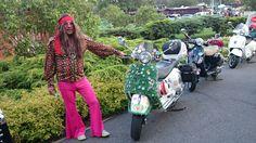 Hippie Vespa