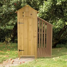 Tool Shed with Log Store in Natural – Next Day Delivery Tool Shed with Log Store in Natural
