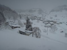 Hijiori Onsen area recorded the deepest snow fall in Japan in this winter.