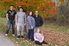 all photo credits to Life's Sketches Photography ... Autumn Family Photo