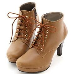 7ee4000aac8a5b Buy  Miss Dora – Faux-Leather High-Heel Boots  at YesStyle.com plus more  Taiwan items and get Free International Shipping on qualifying orders.