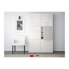 BESTÅ Aufbewahrung mit Türen IKEA