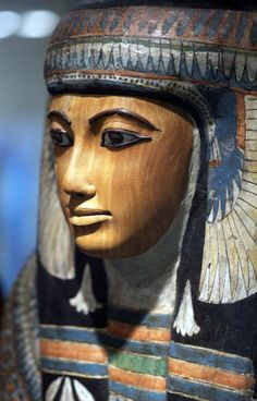 Mummy mask of a high ranking lady , New Kingdom   http://41.media.tumblr.com/e8aa865f3f5768b3ce8756a9e721740e/tumblr_ndwh18CnUm1rhlcb9o1_500.jpg