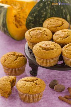 Muffin alla zucca #GialloZafferano