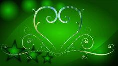 Фон для видеомонтажа Зеленый узор HD