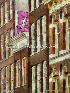 330 Amsterdam High Graffiti by Richard Neuman Digital Media ~ 24 x 18