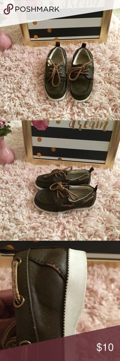 Gap Boys casual shoes Gap boys casual shoes  Brown - see pics of wear and tear but nice shoes overall Shoes Flats & Loafers