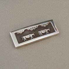 Sale VINTAGE Native American STERLING Silver SLIDE Bracelet Slider Overlay 6.0 Grams c.1960's #VintageSlide #VintageSterlingJewelry $32.00 https://www.etsy.com/listing/192240404/sale-vintage-native-american-sterling?ref=related-0