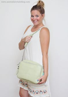 Easton Structured Crossbody Bag - Stitch Fix Review
