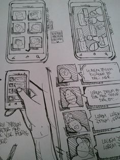 Sketches, Concepts, Layouts, Wireframes