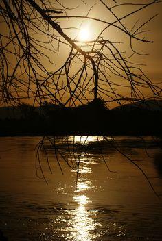 Por do Sol no Parque da Princesa, Pindamonhangaba - SP