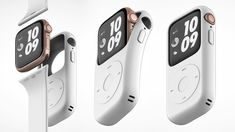 The square form factor, super tiny music player from Apple? And remember how people turned it into a watch prior to the market introduction of Apple Watch? Spy Gadgets, Electronics Gadgets, Technology Gadgets, Future Gadgets, Iphone Gadgets, Futuristic Technology, Apple Watch Series 2, Apple Watch Bands, Apple Watch Fashion