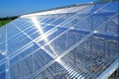 Check out our gallery for more photos of Polycarbonate panels and sheets. Montreal Qc, Montreal Ville, Polycarbonate Roof Panels, Greenhouse Plans, Outdoor Spaces, Outdoor Decor, Construction, Backyard Patio, More Photos