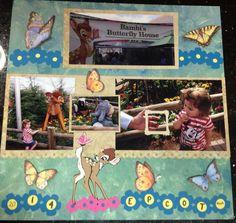 Bambi's Butterfly Garden - Scrapbook.com