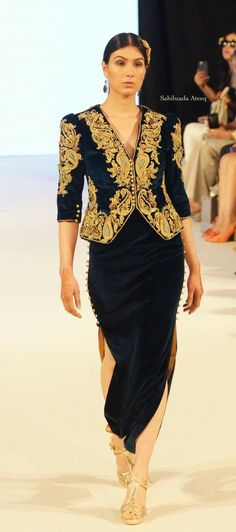 Algerian Karakou and Badroune By Menouba Couture