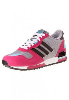 adidas Originals ZX 700 Sneaker tech grey/black/pink buzz