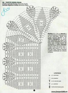 схемки ковриков / Вязание крючком / Вязание крючком для начинающих
