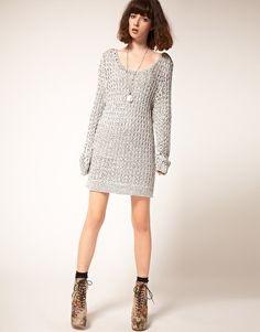 stylestalker Electronic Knit Dress
