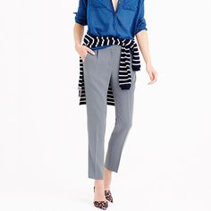 J.Crew - Pleated crepe trouser -  in Petite! To buy
