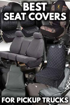 Single Heavy Duty Driver Captain Seat Cover Waterproof BLACK